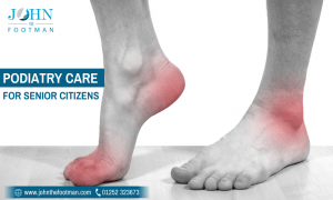 Podiatry care service for Senior Citizens